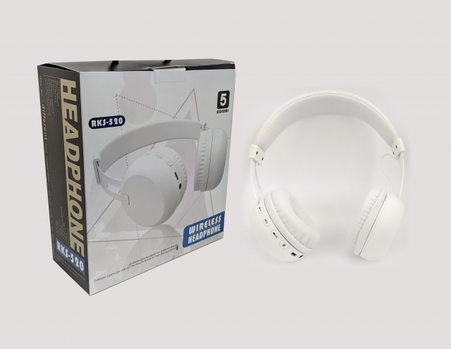 HEADPHONE RKS 520 WHITE