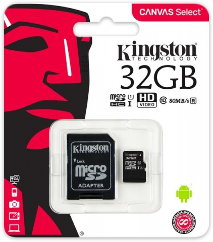 KINGSTON MICRO SD 32 GB