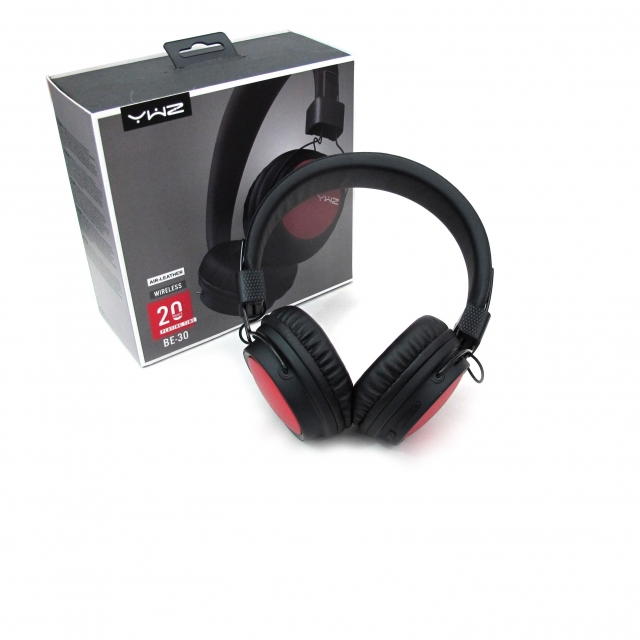 BE30 BLUETOOTH HEADPHONE RED