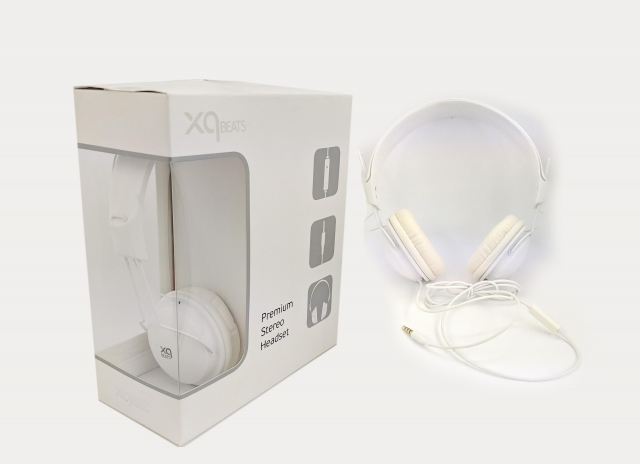 XQISIT HEADPHONE WHITE
