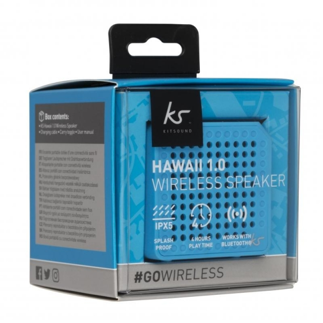KIT SOUND BLUETOOTH SPEAKER HAWAII