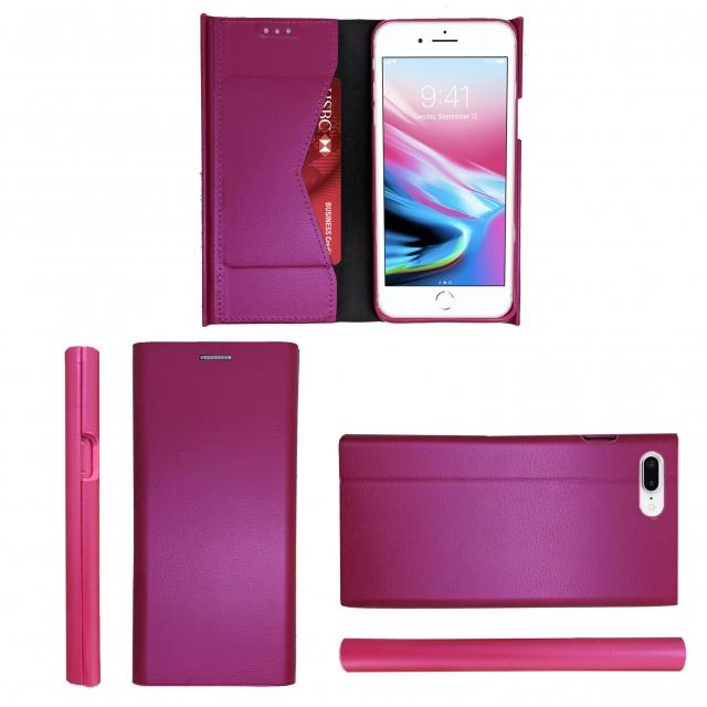 IPHONE 7 PLUS/8 PLUS B21 BOOK CASE HOTPINK
