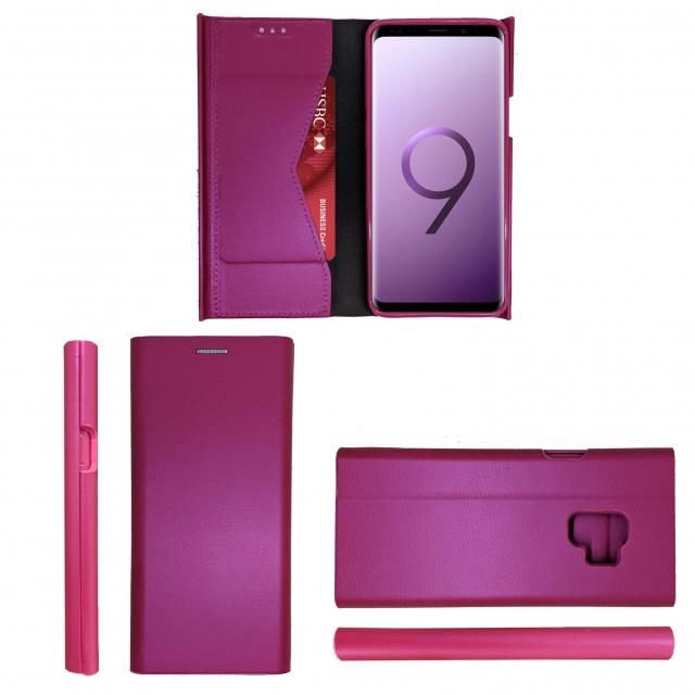 SAMSUNG S9 B21 BOOK CASE HOTPINK