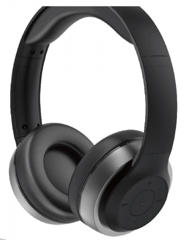 Monarch H1 Wireless Headphones Grey