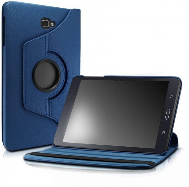 SAMSUNG T585 360 ROTATING CASE BLUE