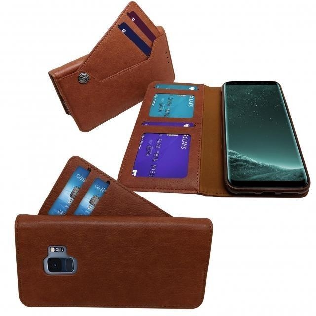 SAMSUNG S10 5G SEPARATE CASE BOOK BROWN