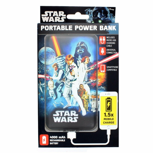 STAR WARS POWER BANK 4000 MH