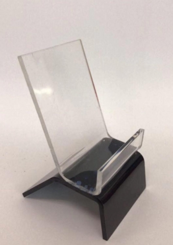PHONE STAND CLEAR BLACK