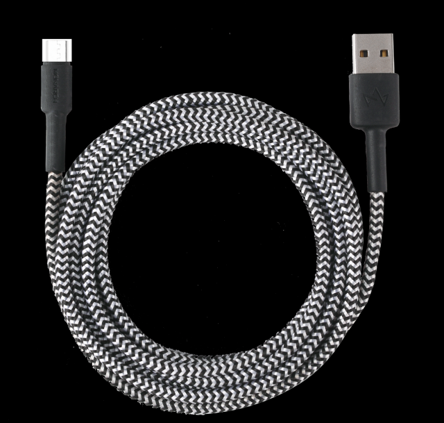 Monarch Iphone Cable Z Series 2 METER Black/White