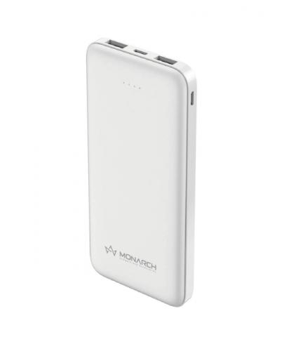Monarch 10000MAh PowerBank EnergyBar E10 WHITE