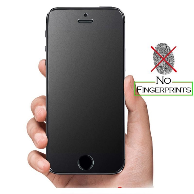 IPHONE 7/8 PLUS MATT TEMPERED BLACK