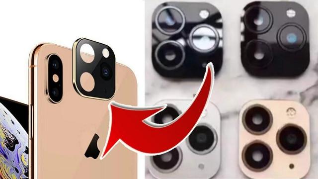 IPHONE 11 PRO MAX /11 PRO CAMERA TEMPERED GLASS SILVER