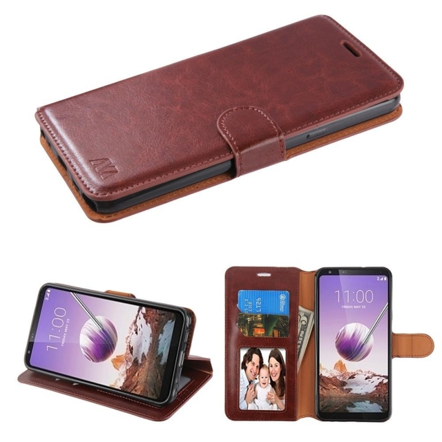 IPHONE 11 PRO MAX 6.5 BOOK CASE BROWN
