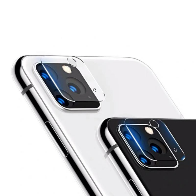IPHONE 11 PRO MAX /11 PRO CAMERA TEMPERED GLASS CLEAR