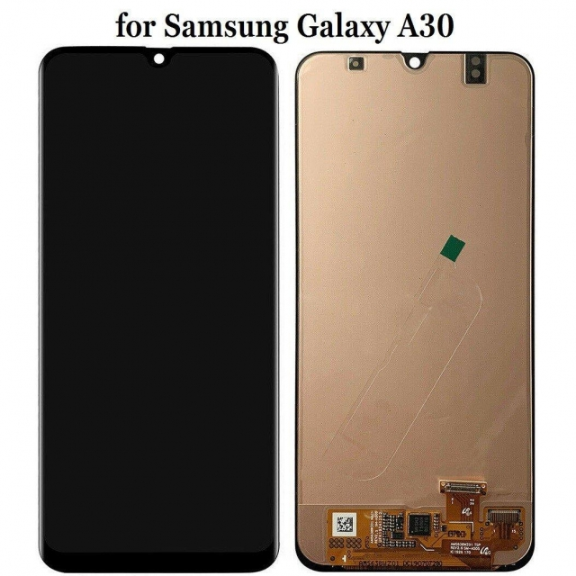 SAMSUNG A30 LCD SERVICE PACK BLACK