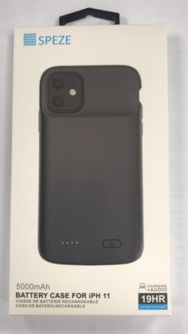 Speze iPh 11 POWER CASE 19hr 5000mAh Black