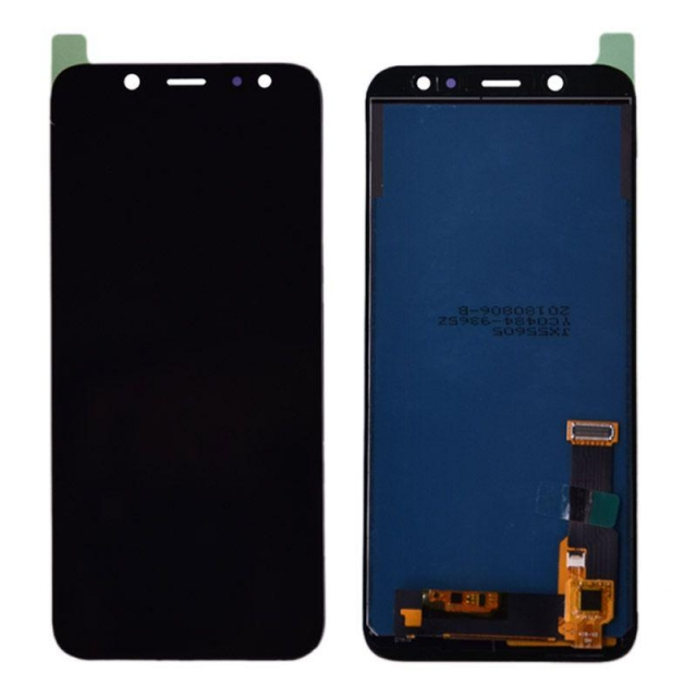 SAMSUNG A6 2018 LCD SERVICE PACK BLACK