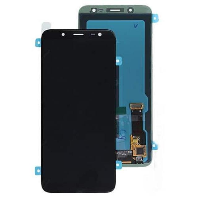 SAMSUNG J6 2018 LCD BLACK SERVICE PACK