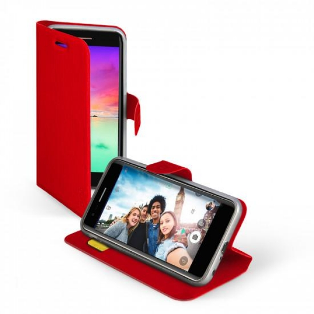 NOKIA 2.2 BOOK CASE RED