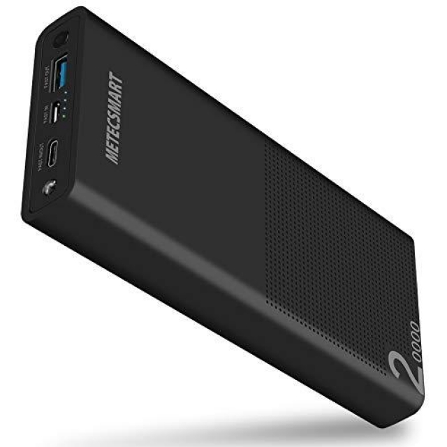 METECSMART 20000 mah Powerbank black