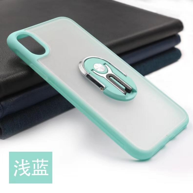 IPHONE 11  MATT CASE WITH AIR-VENT HOLDER SKY BLUE