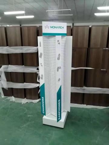 Monarch 4 sided rotating display-PEG Panels And Display
