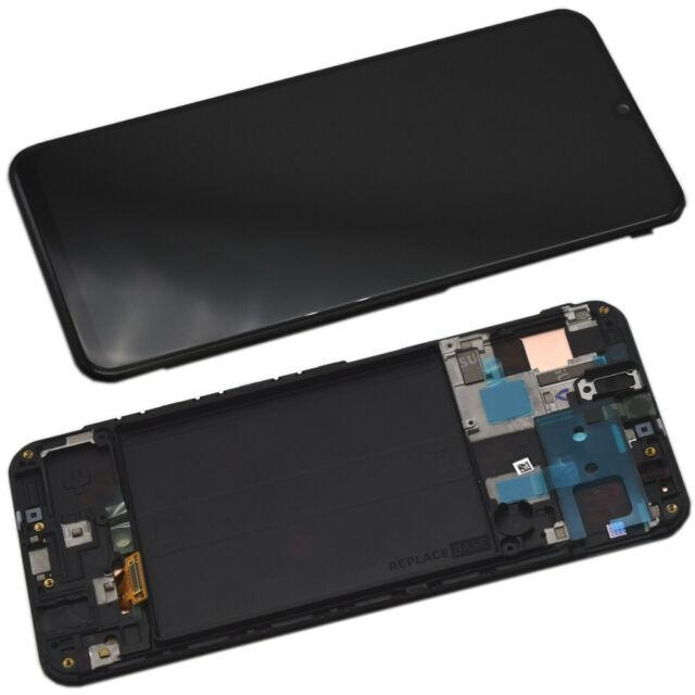SAMSUNG A50 LCD SERVICE PACK BLACK