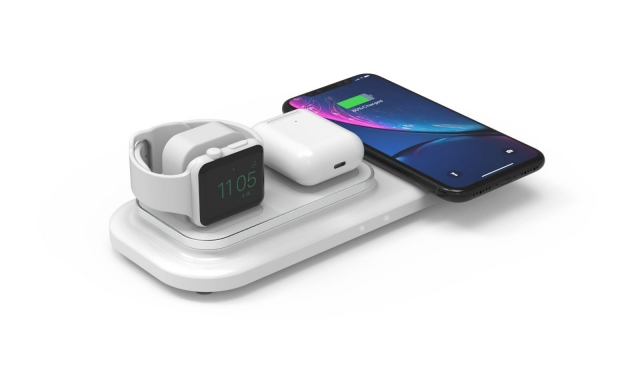 Monarch Wireless charging pad with watch stand