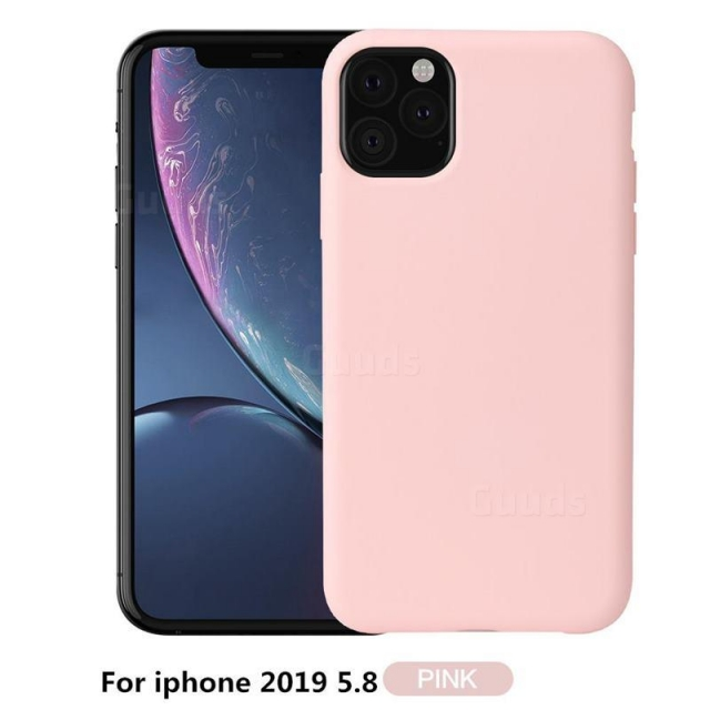 IPHONE 12 Pro Max 6.7 SILICON CASE BABY PINK