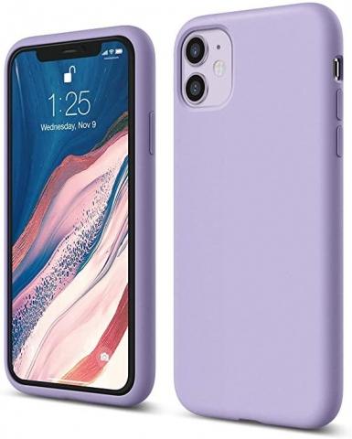 IPHONE 12 Pro Max 6.7 SILICON CASE PURPLE