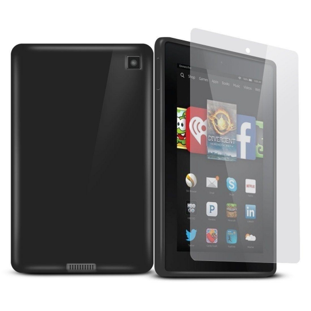 KINDLE FIRE HD7 JELLY CASE BLACK