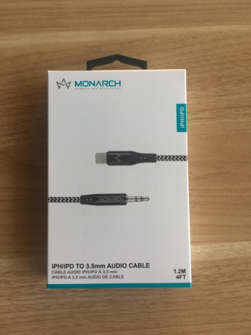 Monarch IPH AUX CABLE Z SERIES