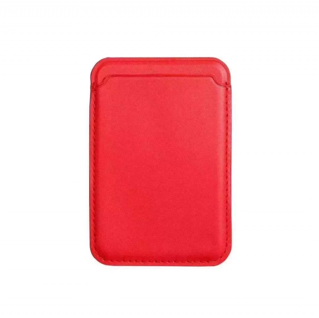 IPHONE 12 MAGNETIC CARD HOLDER RED