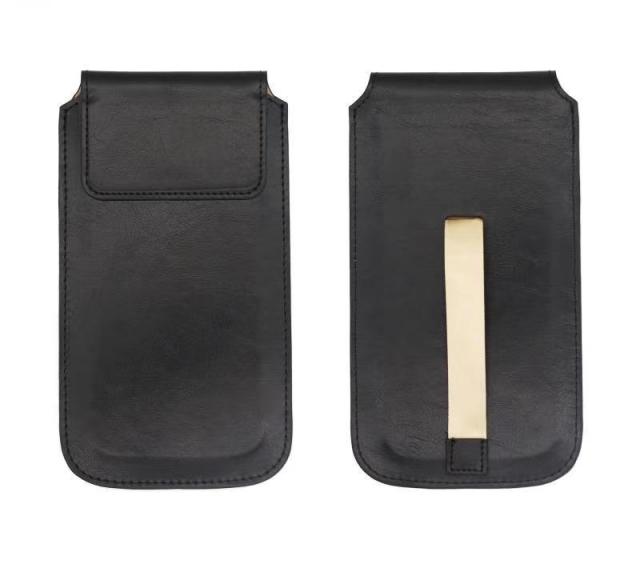 MAGNETIC PULL UP CLIP POUCH 6.5 BLACK