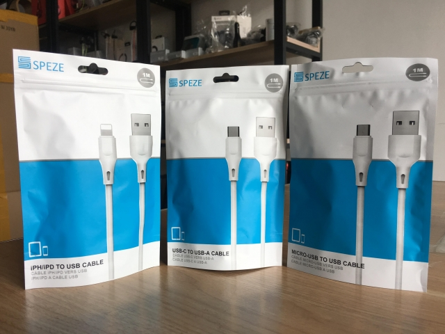 SPEZE IPH CABLE WHITE