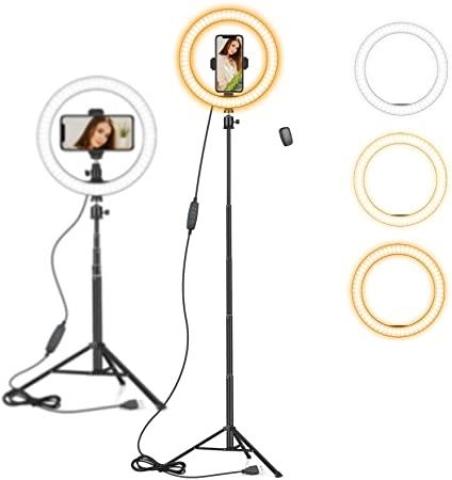 SELFIE LIGHT STAND FOR VIDEO 10 INC AUTAKY