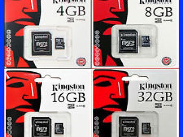 MICRO SD CARD 16GB KINGSTON CLASS 4