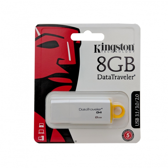 USB DRIVE 8GB KINGSTON