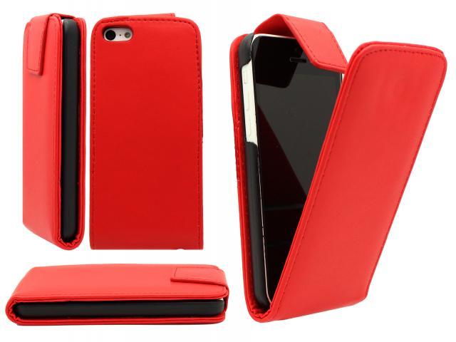 SAMSUNG S5 I9600 FLIP CASE RED