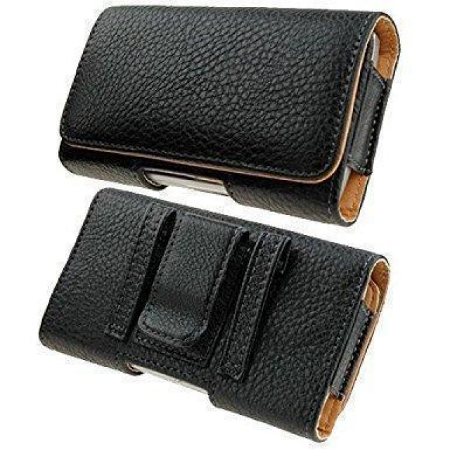 BELT CASE BOOK TYPE LARGE BLACK