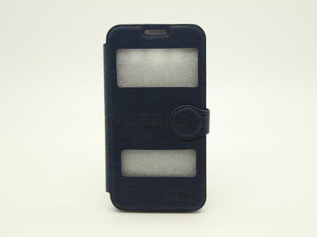 IPHONE 5 WINDOW BOOK CASE BLUE