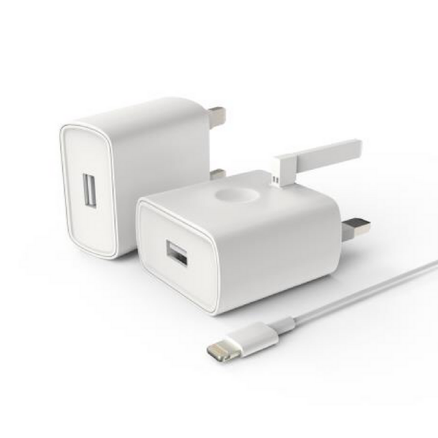 MONARCH IPHONE 1AMP MAIN CHARGER WHITE