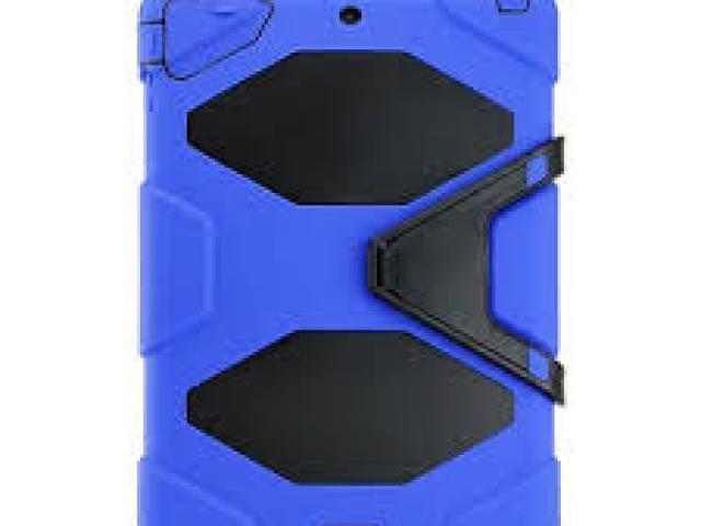 IPAD AIR 2 HEAVY DUTY CASE BLUE