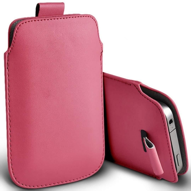 KINDLE4 PULL UP POUCH PINK