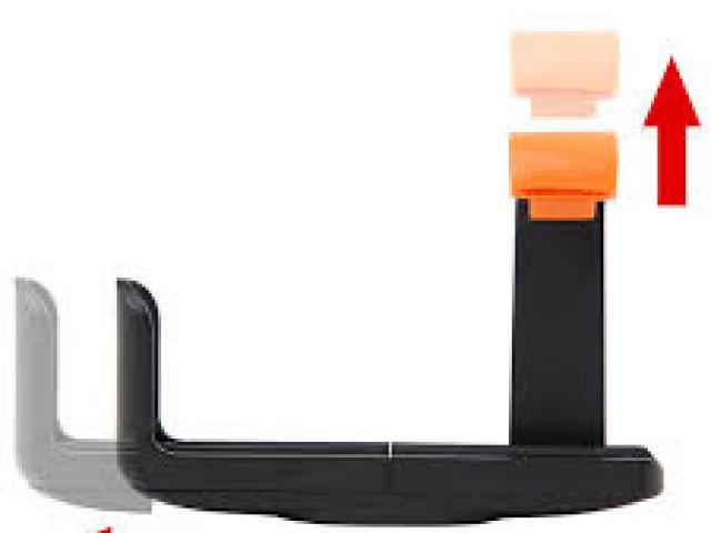 L HOLDER FOR SELFIE BLACK