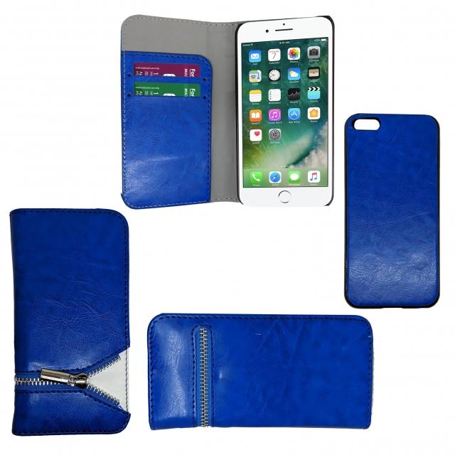 IPHONE 5C 2 IN 1 SNOOPY BOOK CASE BLUE