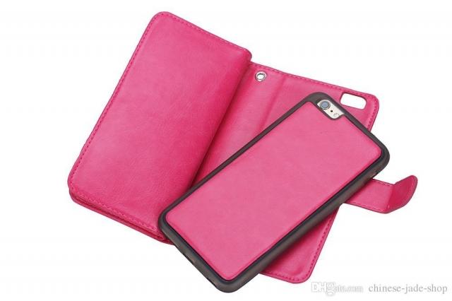 SAMSUNG S6 2 IN 1 BOOK FLIP CASE PINK