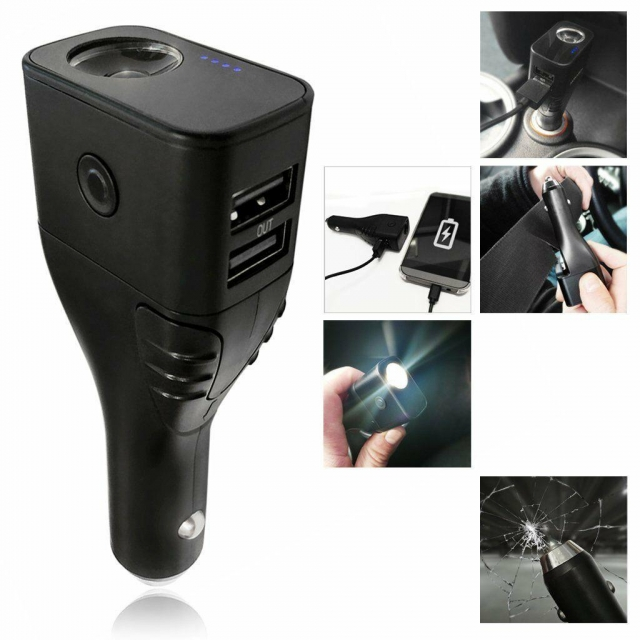 MONARCH 6 IN 1 CAR CHARGER