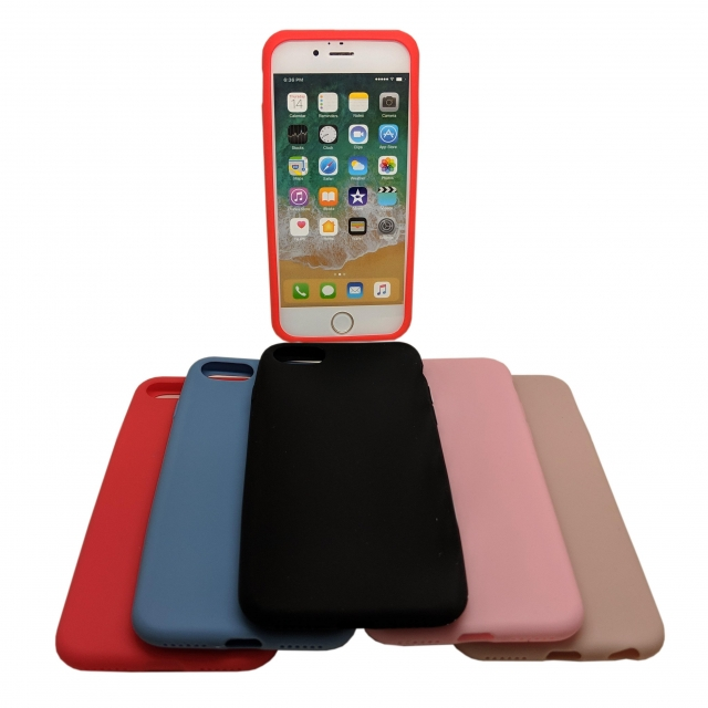 IPHONE 7/8 8 H33 SILICON CASE RED