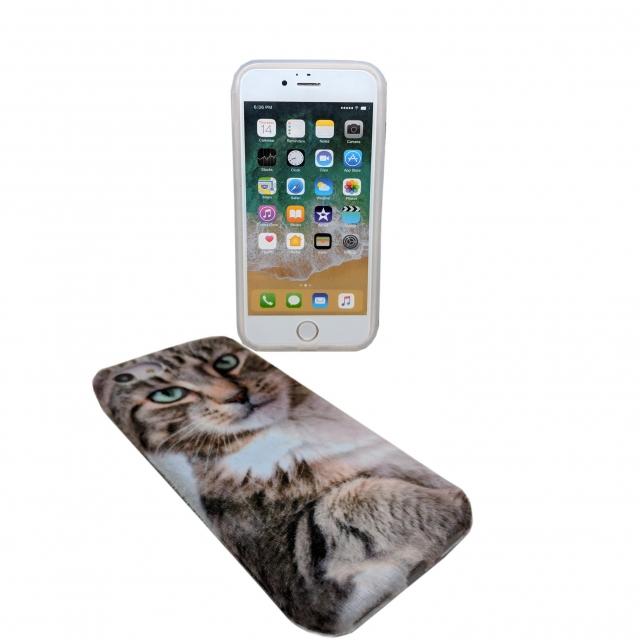 IPHONE X 41 CAT HARD CASE